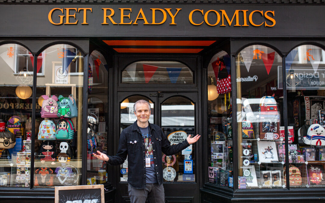 Love Local – Kent Brand Photographer with Get Ready Comics, Rochester Kent